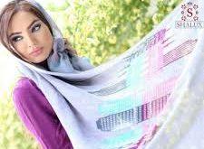 زیباترین شال های ساتن ابریشم زنانه